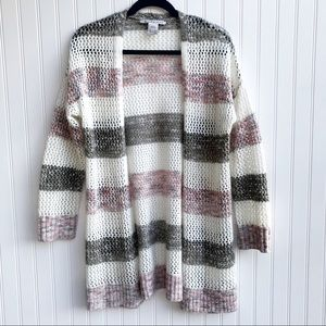 American Rag Striped Duster